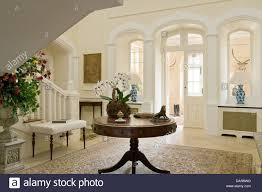 round entry hall table stunning antique designs home design ideas 38