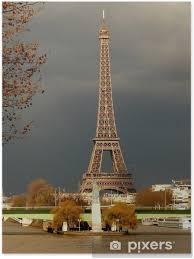 Plakát Eiffelova Věž A Socha Svobody