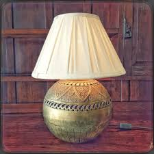 gorgeous vintage large brass table lamp our other awesome items can be viewed at bidor co za er 2168112 rs17 lifestyle decor
