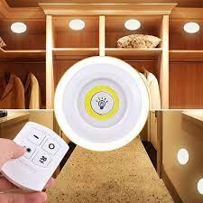 Bộ 3 Đèn LED Dán Tường Mini Thông Minh Có Điều Khiển Từ Xa giá cạnh tranh