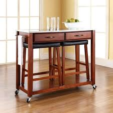 Kitchen Island Table On Wheels Kitchen Islands On Wheels With Seating Black Gas Range Red Shapely