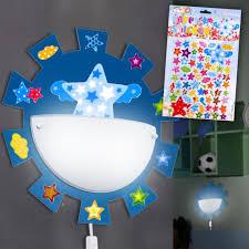 children s room baby boys wall lighting light sun lamp stars sticker
