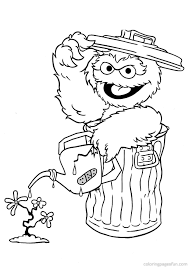 Sesame Street Coloring Pages To And Print For Free Ruva