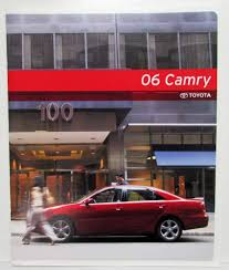 Toyota Camry Sales Brochure
