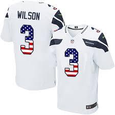 Usa Road Football - Russell 3 Elite Fashion Sale Wilson Seattle Flag Jersey White Seahawks Men's|San Francisco 49ers