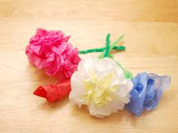 How To Make A Flower Out Of Tissue Paper Step By Step Tissue Paper Rose