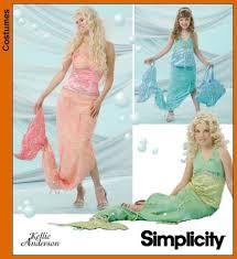 Mermaid Costume Pattern