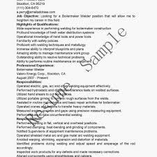 Welder Resume Contoh Resume Welder Job Description Welder Resume within Rig  Welder Resume