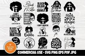 You can copy, modify, distribute and perform the work, even for commercial purposes, all. Black Woman Svg Bundle Black Girl Magic Svg Strong Woman 733075 Cut Files Design Bundles