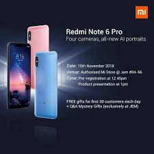 Product Presentation Redmi Note 6 Pro Product Presentation Redmi Note Mi