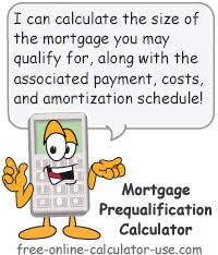 Calculate A Mortgage Loan Mortgage Prequalification Calculator How Much House Can You