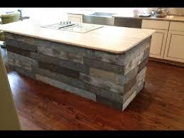 Gorgeous Reclaimed Wood Kitchen Islands Ideas