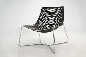 modern white lounge chair. Cado Modern Furniture Lounge Chair York Black White H