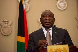 President cyril ramaphosa addresses the nation on 28 february 2021. Ramaphosa Announces 21 Day Lockdown To Curb Covid 19 The Mail Guardian