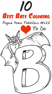 10 Best Bats Coloring Pages Your