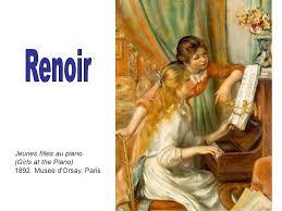 Resultado de imagen para les jeunes filles au piano renoir