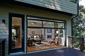 image of folding glass garage doors horizontal glass garage doors for houses luxury functionally and