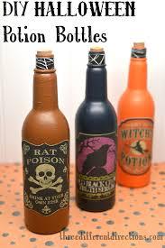 Halloween Decorations Potion Bottles DIY Halloween Potion Bottles Decoration Three Different Directions 1