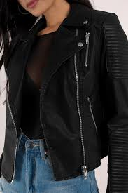 tobi leather jackets black wynne quilted moto jacket tobi