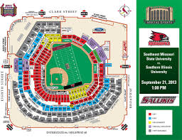 Busch Stadium Bank Of America Club Seating Chart Semo To Play Siu In First Football Game At Busch Stadium