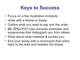 Personal Statement Outline Tips To Make A Personal Statement