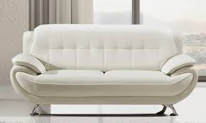 Luxury White Leather Sofas