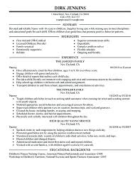 Nanny Resume Samples – Komphelps.pro