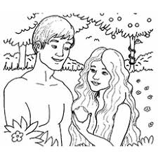 Garden of eden coloring pages free printable entrancing. Top 25 Freeprintable Adam And Eve Coloring Pages Online