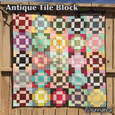 Sunny in CAL: Antique Tile Block - Quick Tutorial & This is my Antique Tile Quilt. Adamdwight.com