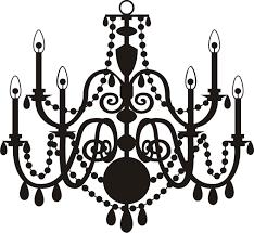 1325x1219 chandelier silhouette clip art je info