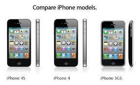 Iphone 4 Iphone 4s Comparison Chart Comparison Chart Iphone 4s Vs Iphone 4 Vs Iphone 3gs