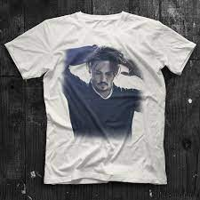 Johnny Depp White Unisex T-Shirt - Tees - Shirts