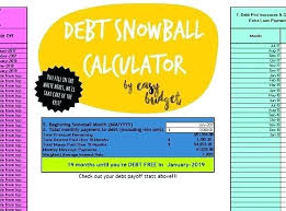 Debt Payoff Excel Debt Payment Calculator Excel Snowball Payment Calculator Excel Debt