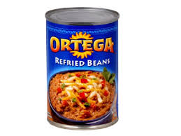refried beans canned