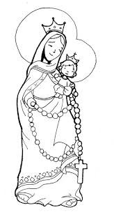 Find all the coloring pages you want organized by topic and lots of other kids crafts and kids activities at allkidsnetwork.com. Virgin Marie Of The Rosary Coloring Pages Coloring Pages Catholic Coloring Coloring Pages Faith Crafts