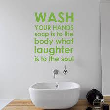 bathroom rules wall sticker