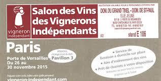 salon des vignerons indépendants de france paris
