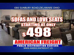 Tour of the Delaware Ohio American Freight Store