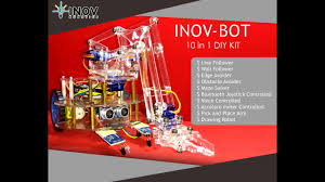 inov bot 10 in 1 diy robot kit inov robotics