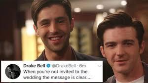 drake wasn't invited to josh's wedding?! drake & josh youtube Not Invited To Wedding Hurt drake wasn't invited to josh's wedding?! drake & josh not invited to wedding but bridal shower