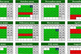 Term Dates 2019-2020 | Evelyn Grace Academy