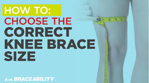 How To Choose The Correct Knee Brace Size