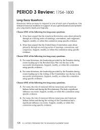 american history essay questions review period cinnamon hc c jpg  final exam essay question outlines pdf history