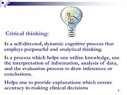 Academic OneFile   Document   Facilitating critical thinking