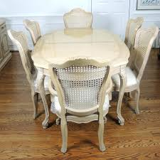 thomasville dining table french provincial style dining table and six chairs thomasville 72 round dining table