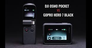 Dji Osmo Pocket Vs Gopro Hero 7 Black