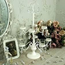 creative tea light chandelier tealight chandelier cream 9 cup tealight candle holder candelabra lighting wedding home