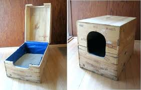 image covered cat litter. Cat Litter Box Large Covered Furniture Enclosed I Amazon . Image T