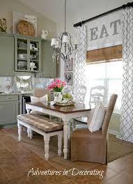 Kitchen Drapery Window Treatment Ideas Ideas For Decorating Windows With Curtains