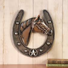 horseshoe wall art